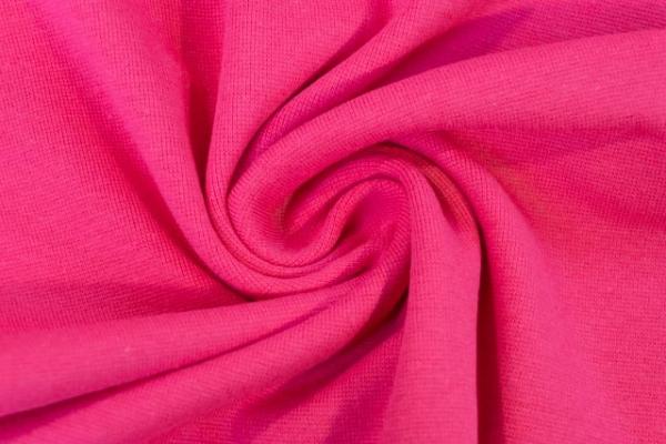 Feinstrick Bündchen Anna Uni pink Ökotex 100