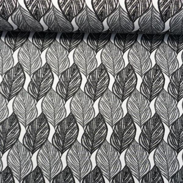 Jacquard Dekostoff Cohiba schwarz-grau
