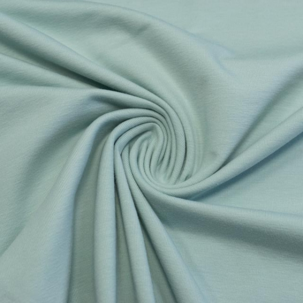 Baumwolljersey UNI dusty mint