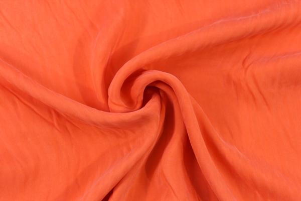 Viskose Seidenweich UNI orange Ökotex 100