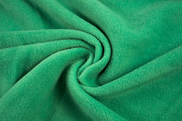 Antipilling Fleece apfelgrün Ökotex 100