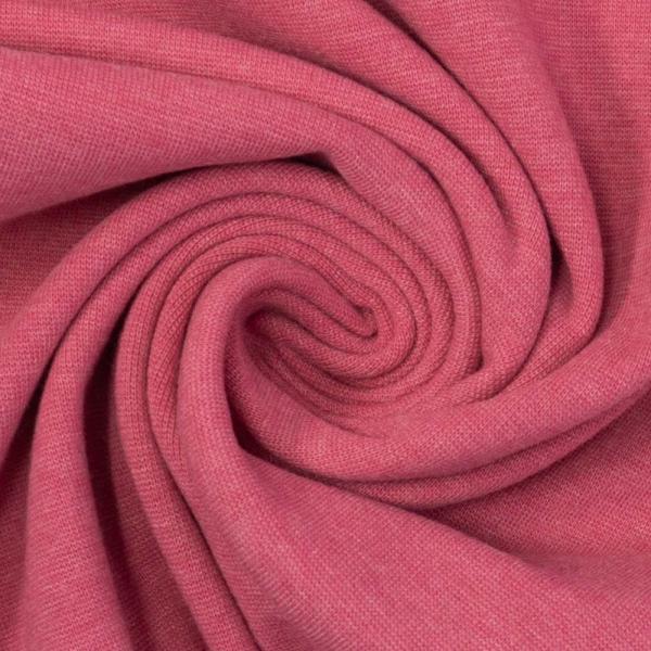 Bündchen Feinstrick MELIERT pink
