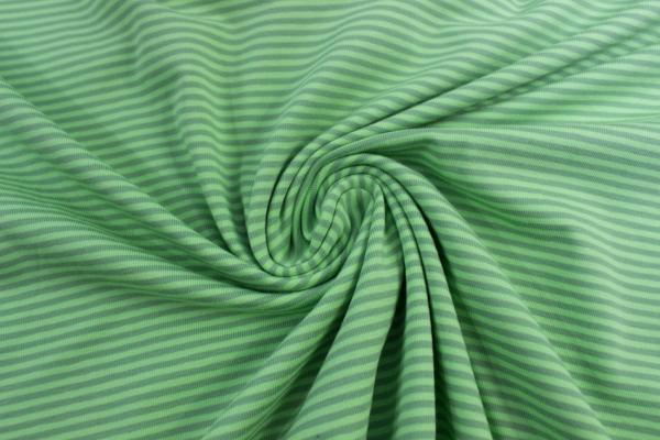 Baby Stripes Jersey lime-grün ca. 0,2 cm Öko Tex 100