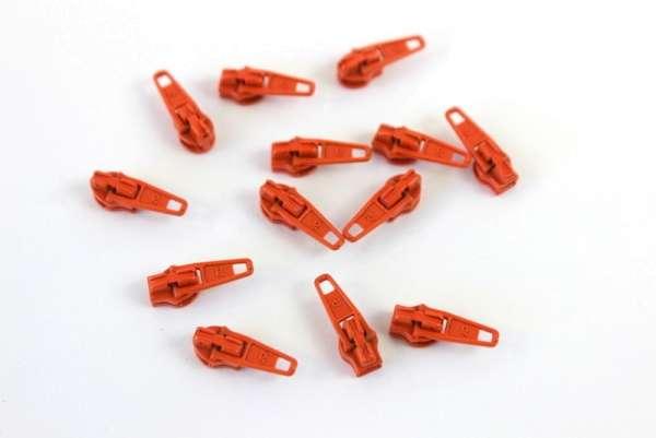 Zipper orange 12mm