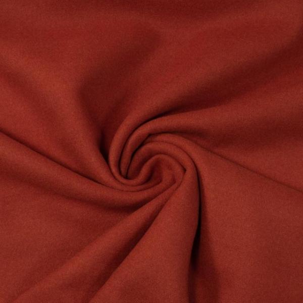 Mantelstoff Wool Touch terra