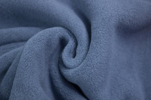 Baumwoll Fleece Sweat Jeansblau-Dunkel Ökotex 100