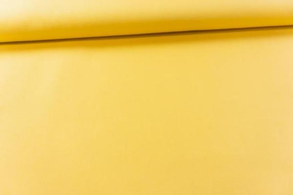 Canvas Premium Uni dunkelgelb 100% Baumwolle Ökotex 100