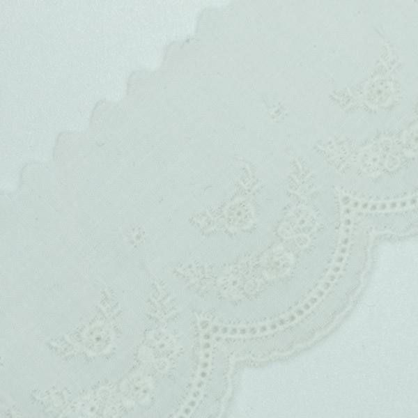 Baumwoll Spitzenborte Blumengesteck 4cm
