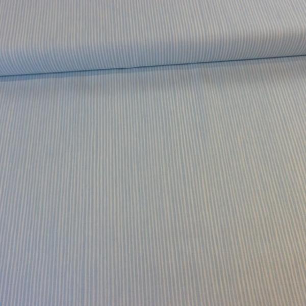 Baumwollwebware Italienische Kollektion Streifen blau Ökotex 100