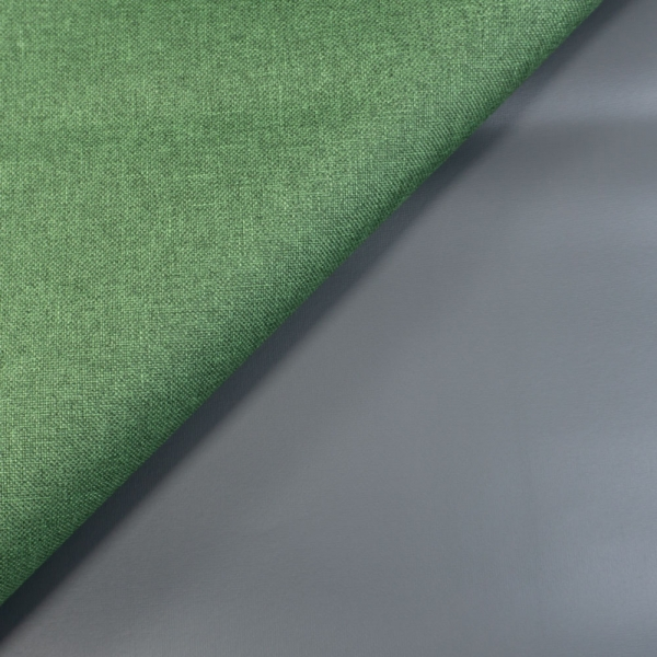 Outdoorstoff Waterproof meliert grün