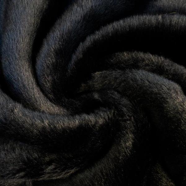 Webpelz Fellimitat schwarz Ökotex 100