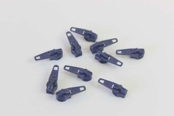 Zipper navy 16mm