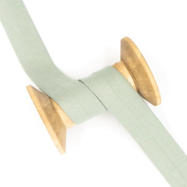 Jersey Schrägband Deluxe dusty mint