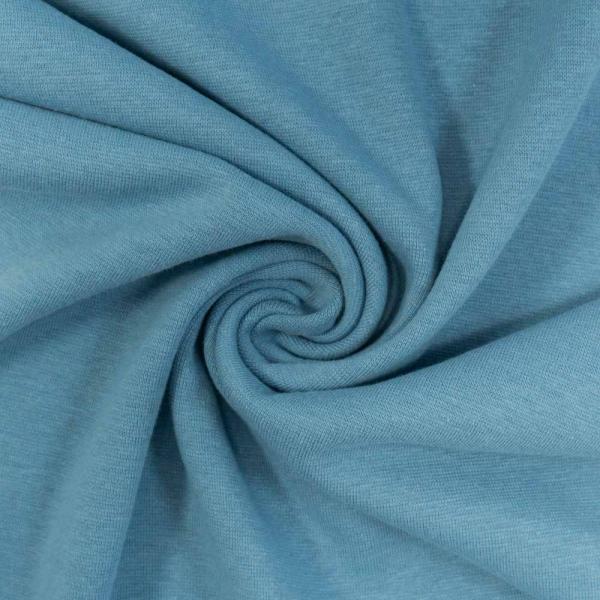 Bündchen UNI jeansblau hell
