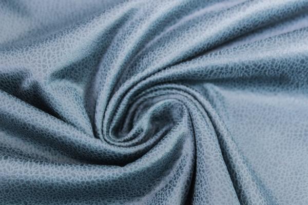 Lederjersey Vintage jeansblau 300gr/m² Öko Tex 100