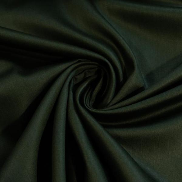 Baumwollsatin Uni khaki