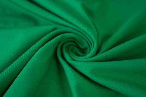 Baumwolljersey Uni grün Ökotex 100