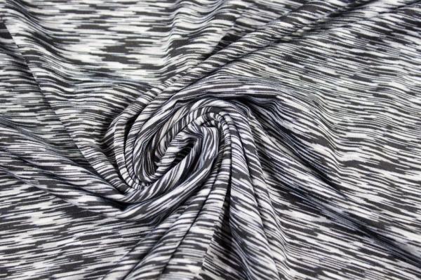 Multifunktionsjersey Stripes wolfsgrey Ökotex 100