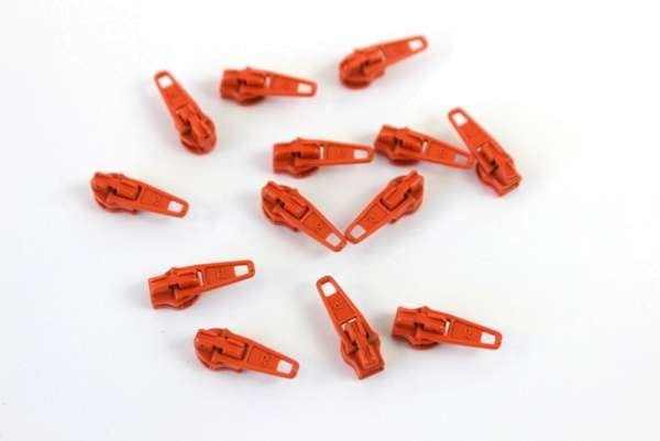 Zipper orange 16mm
