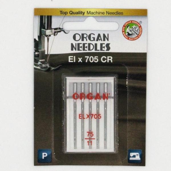 Organ Overlock/Coverlock ELX705 PB 5 Stk. Stärke 75