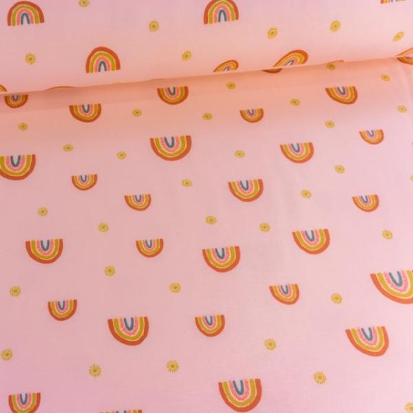 BIO Soft Sweat angeraut Rainbow rosa