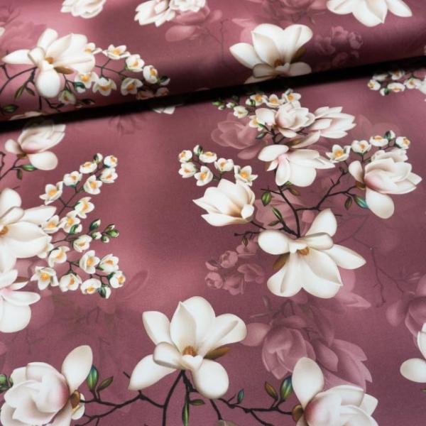 Jersey Soft Skin Magnolie altrosa dunkel