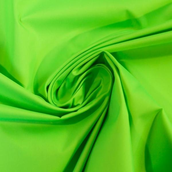 Wasserabweisender Folienstoff NEON grün
