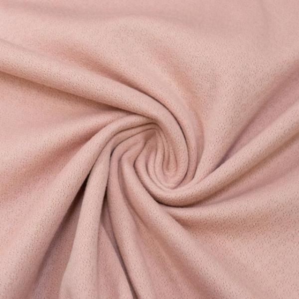 Baumwollstrick Fine Knit Dots altrosa