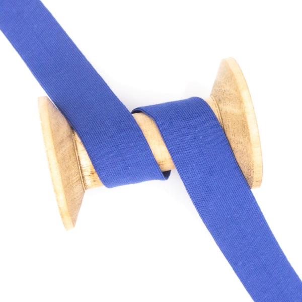 Jersey Schrägband Deluxe royalblau