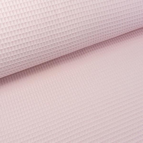 Waffelpiqué UNI rosa