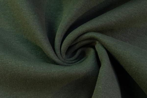 Bündchen Feinstrick UNI khaki -hohe Sprungkraft- Ökotex 100