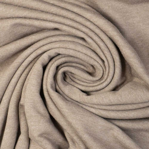 Sweat Anna - French Terry MELIERT taupe
