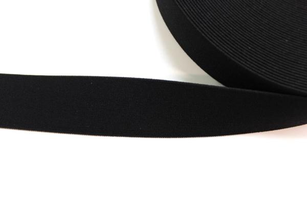 Gummiband schwarz 40mm Ökotex 100