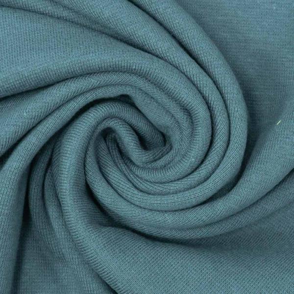 Bio Bündchen Feinstrick jeansblau Ökotex 100