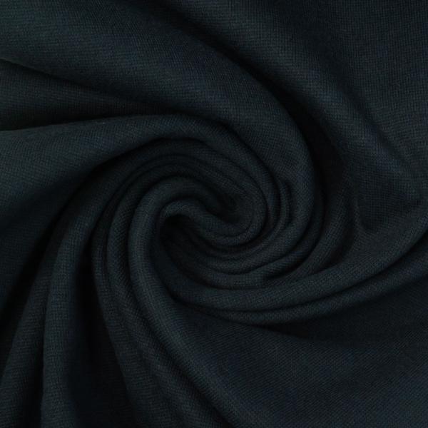 Bündchen Feinstrick UNI mitternachtsblau