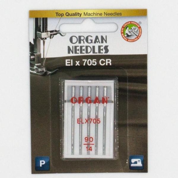 Organ Overlock/Coverlock ELX705 PB 5 Stk. Stärke 90