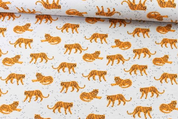 Sweat unangeraut Tiger grau Ökotex 100