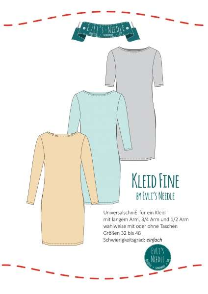 "Ebook Kleid ""FINE"" Classic by EvLi's-Needle"