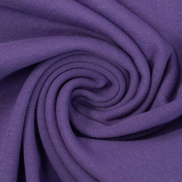 Bündchen Feinstrick lila