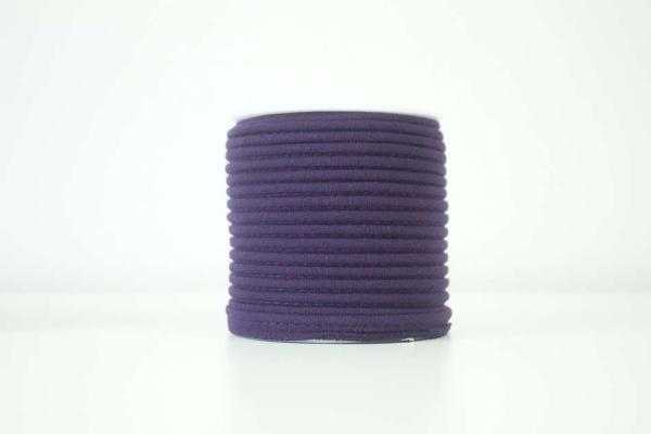 Jersey Paspelband lila elastisch