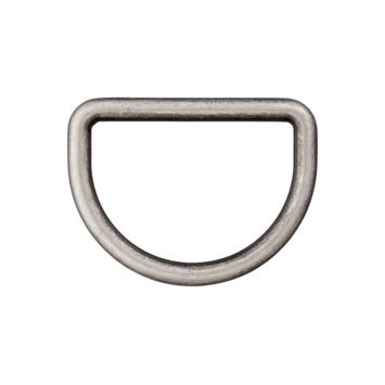 D-Ring altsilber 30mm