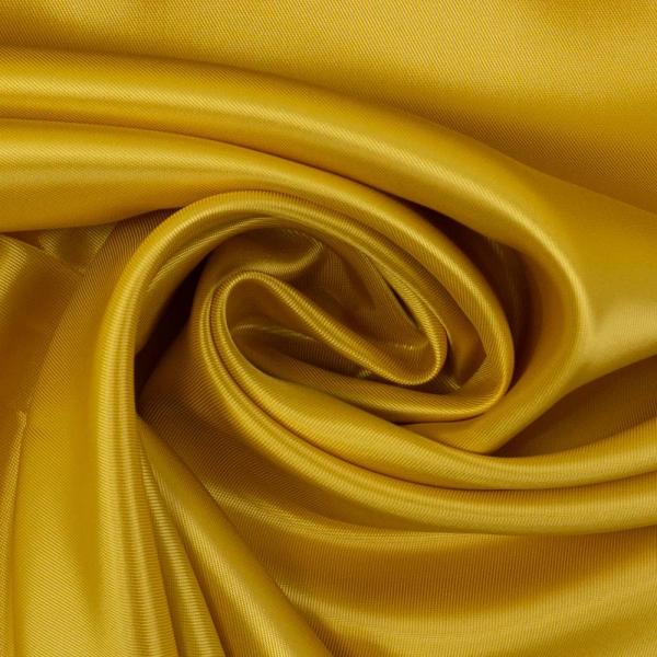 Viskose Taftstoff Uni golden