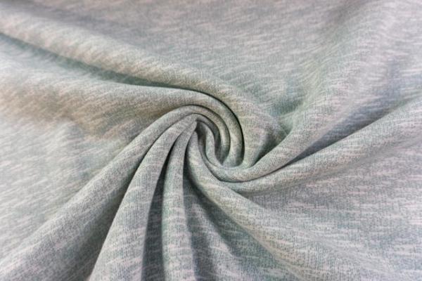 Vintage-Sweat angeraut dusty mint Ökotex 100