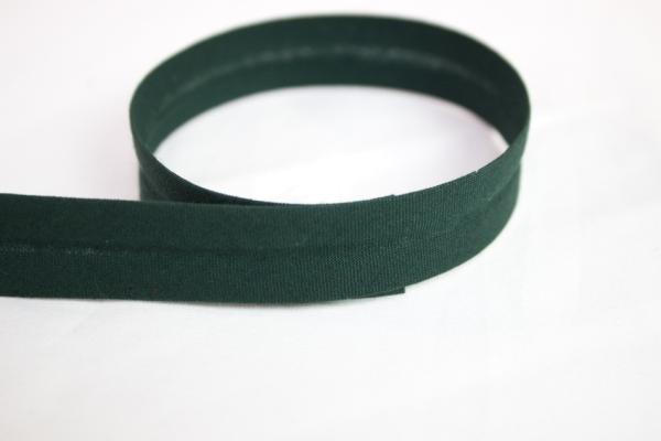 Schrägband vorgefalzt tannengrün Ökotex 100