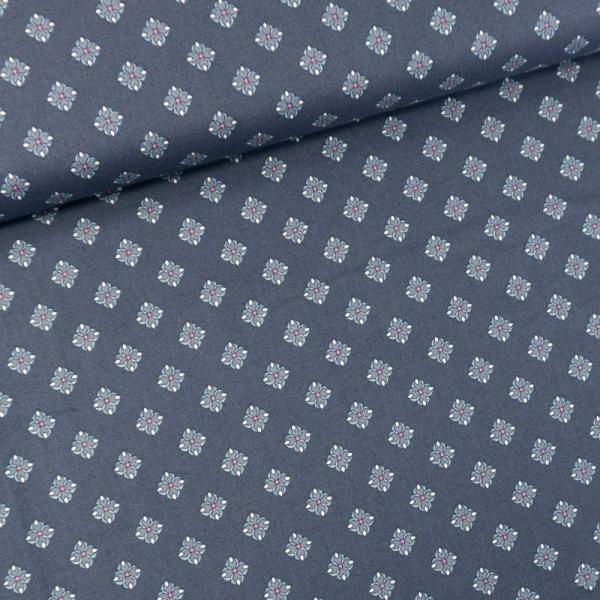 Gütermann Baumwollwebware Timeless jeansblau dunkel
