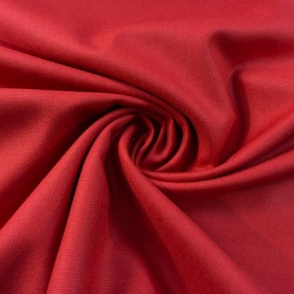 Canvas Premium Uni rot 100% Baumwolle Ökotex 100
