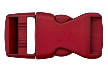 Rucksackschließe bordeaux 40mm Kunststoff