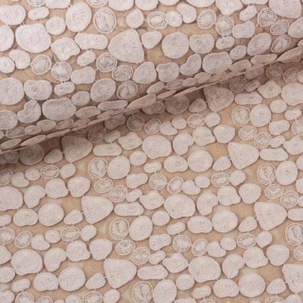 Spitze Stickerei Seerosenblätter nude