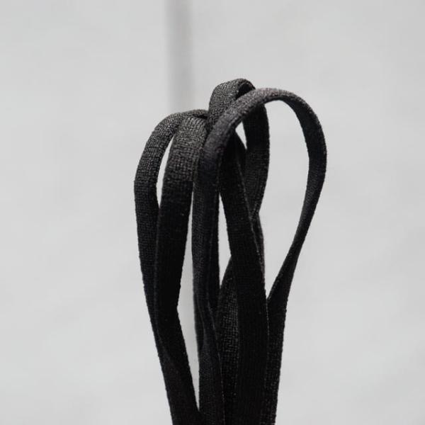 SOFT TOUCH Gummiband schwarz 5mm