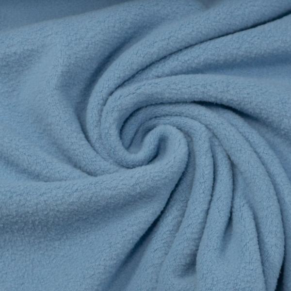 Baumwollfleece jeansblau